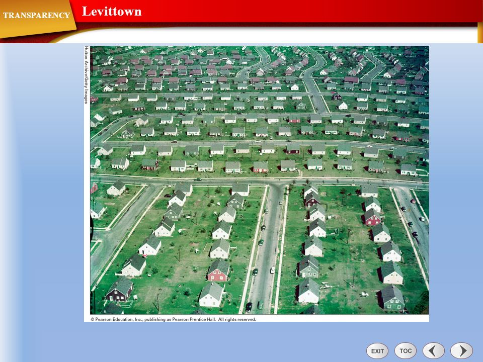 Levittown TRANSPARENCY