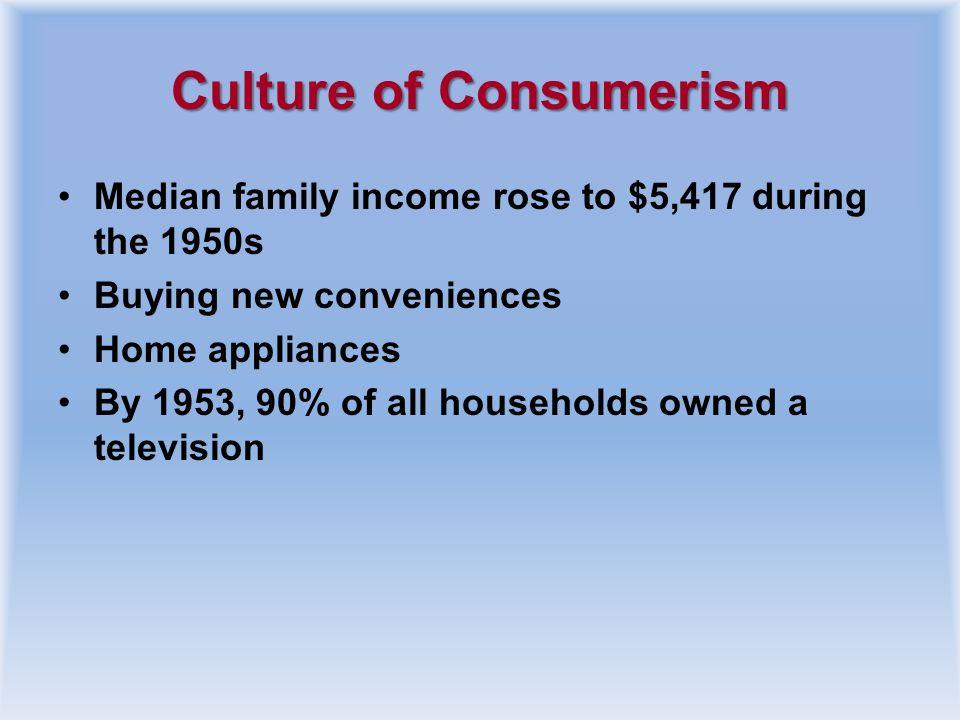Culture of Consumerism