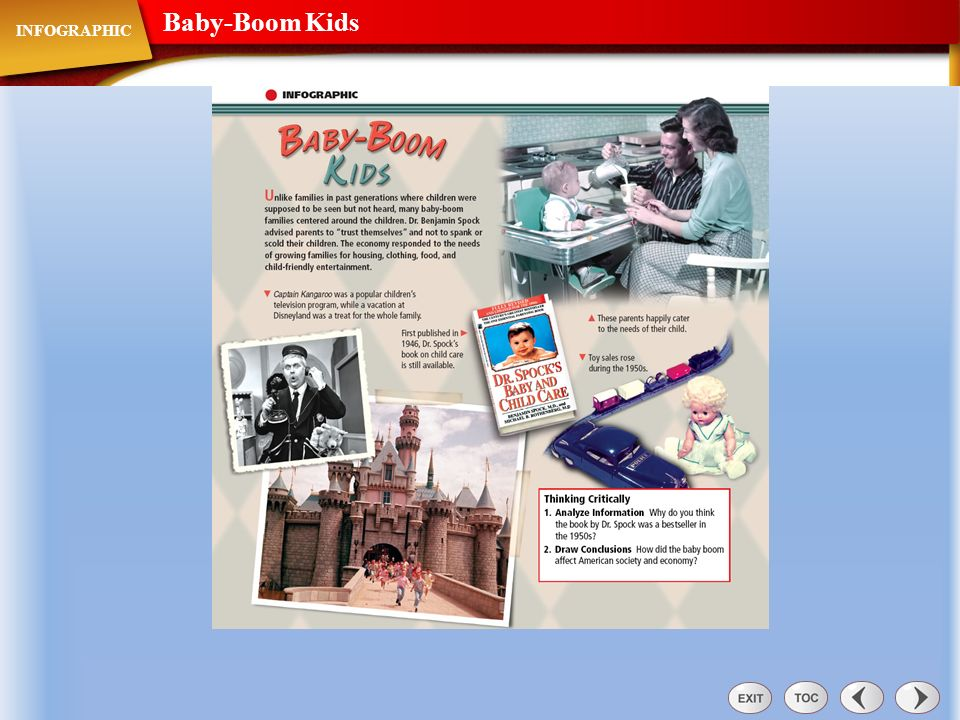Baby-Boom Kids INFOGRAPHIC