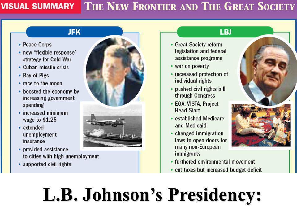 L.B. Johnson's Presidency: