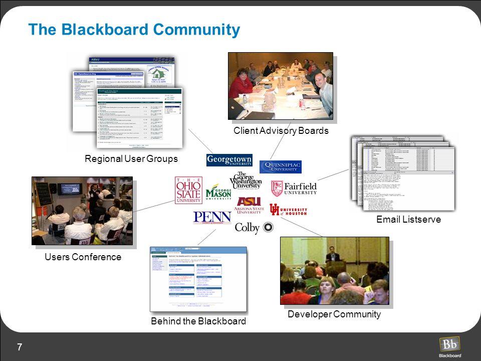 The Blackboard Community