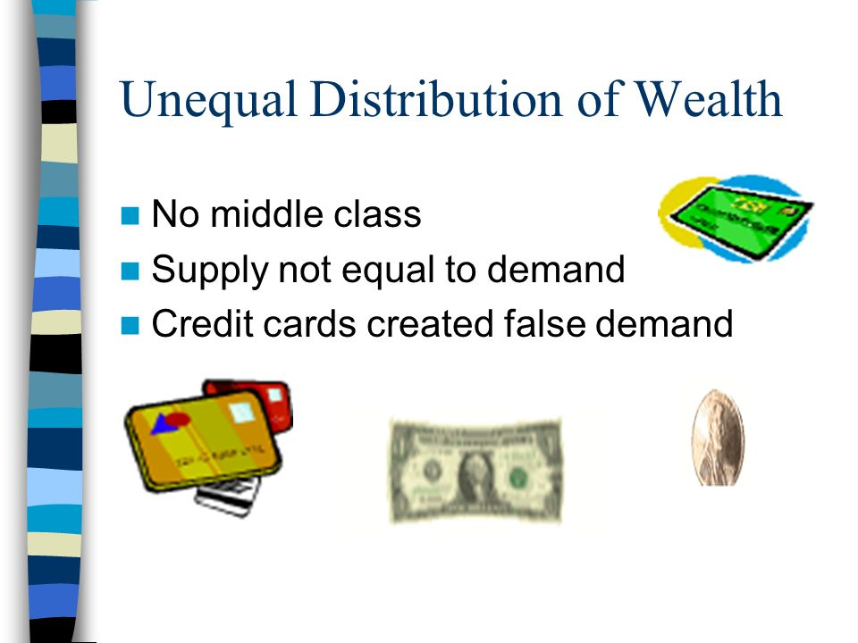 Unequal Distribution of Wealth