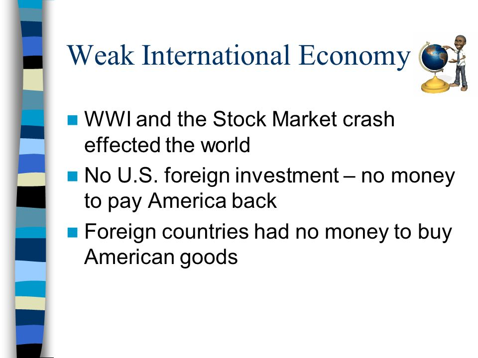 Weak International Economy