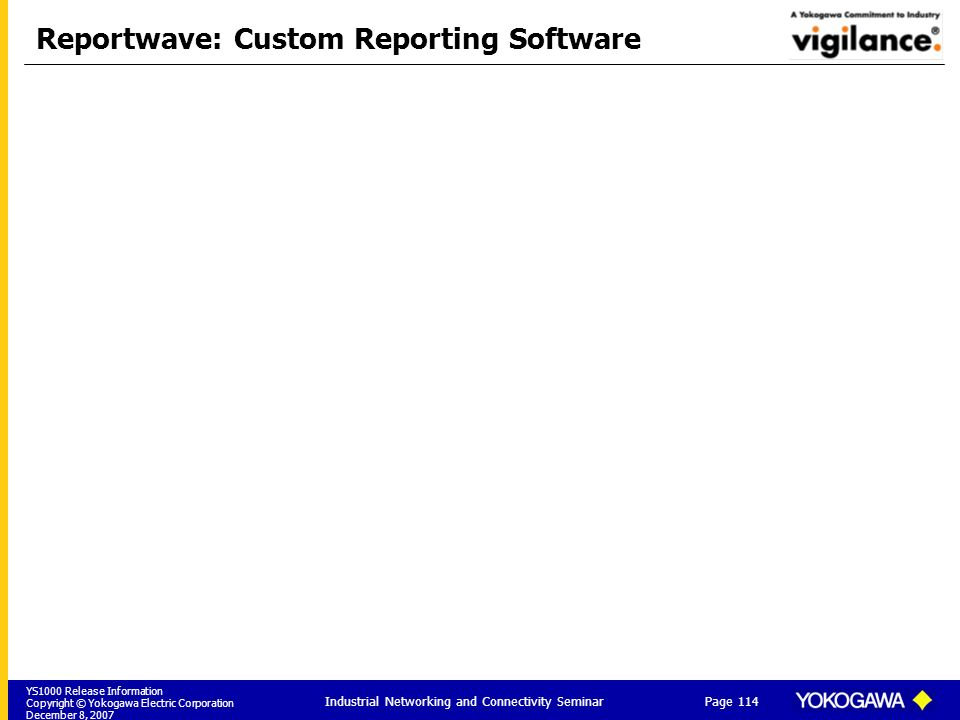 Reportwave: Custom Reporting Software