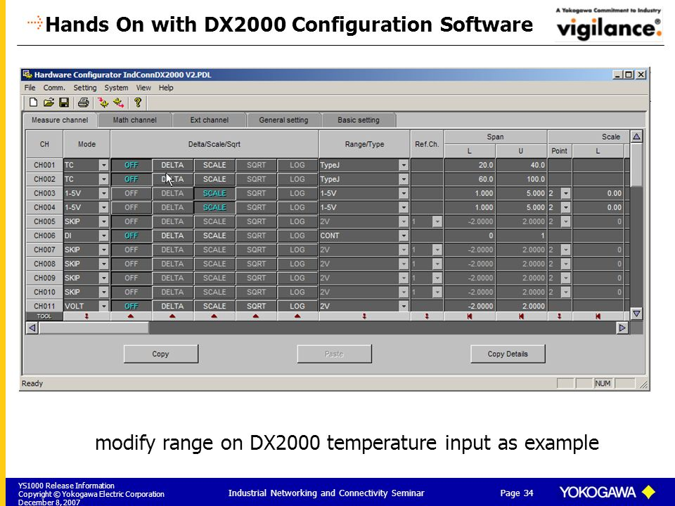 Hands On with DX2000 Configuration Software