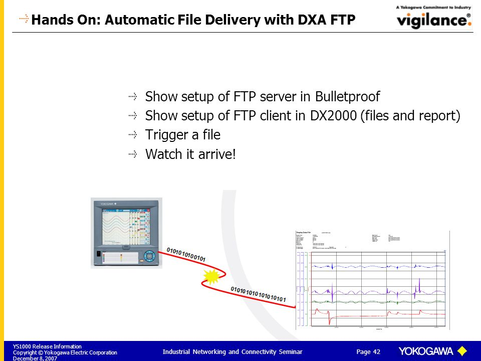 Hands On: Automatic File Delivery with DXA FTP