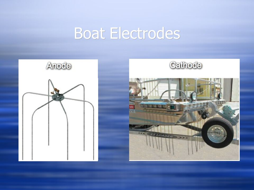 Boat Electrodes Anode Cathode