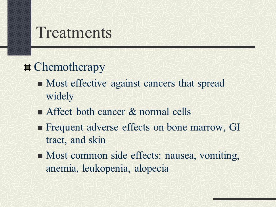 Treatments Chemotherapy