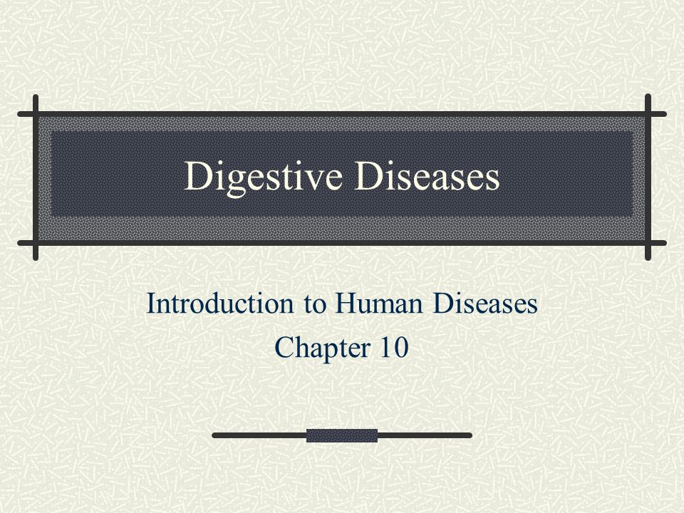 Introduction to Human Diseases Chapter 10