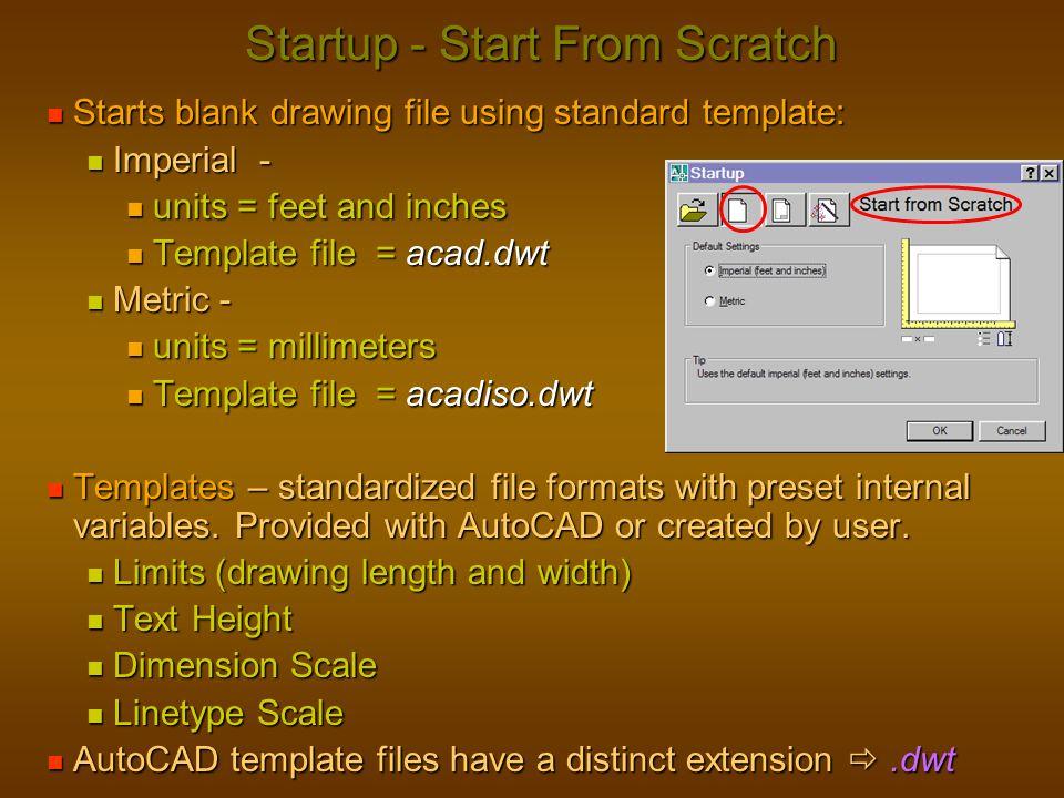 Startup - Start From Scratch