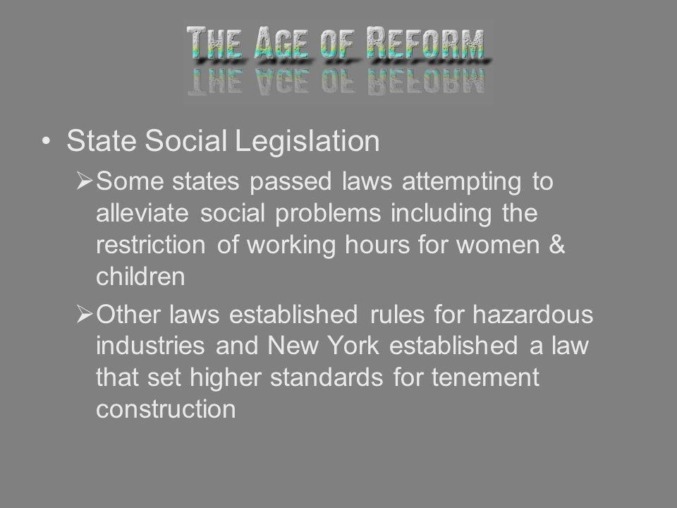 State Social Legislation