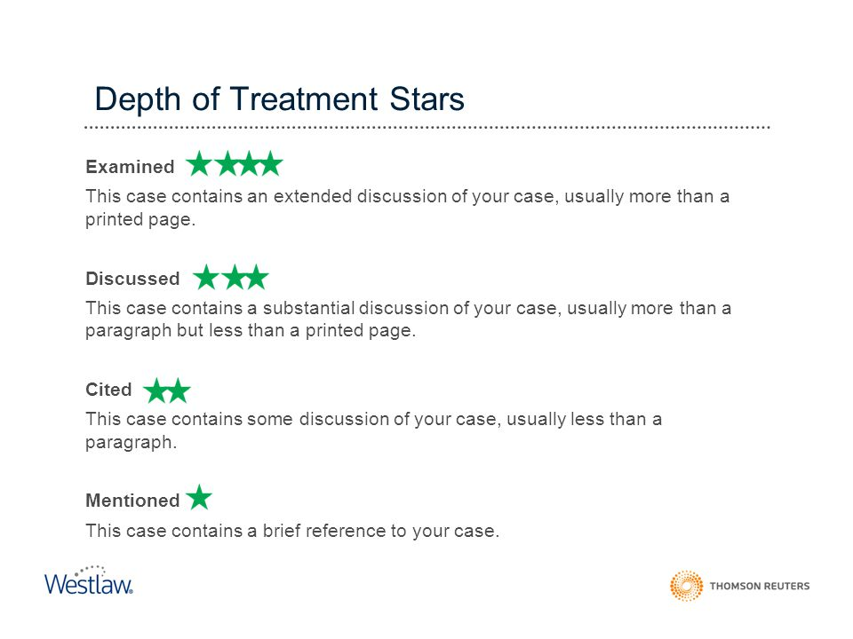 Depth of Treatment Stars