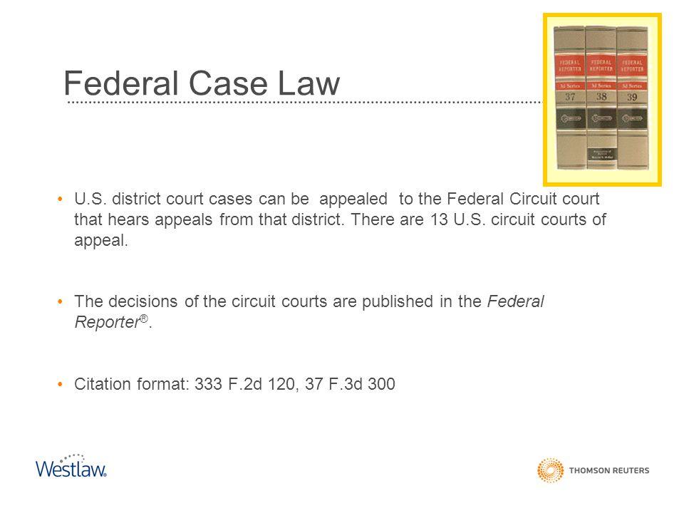 Federal Case Law