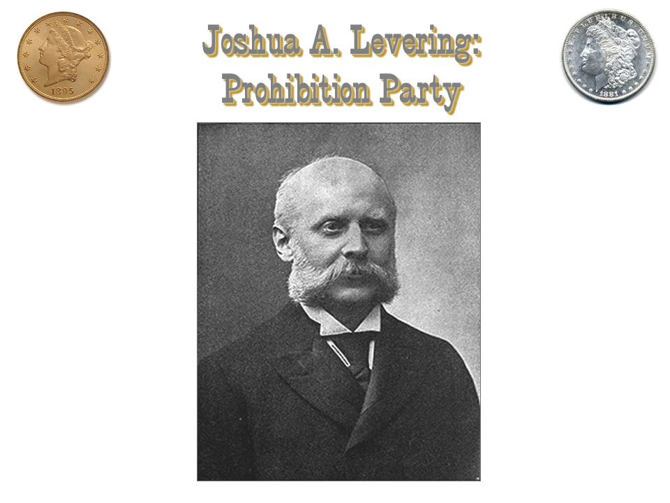 Joshua A. Levering: Prohibition Party