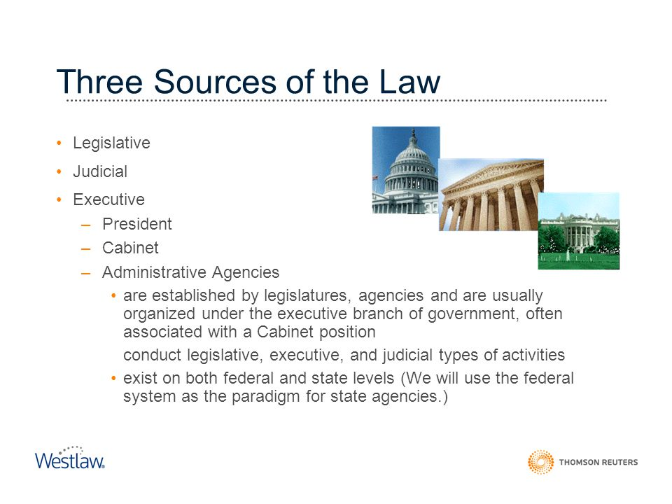 Three Sources of the Law