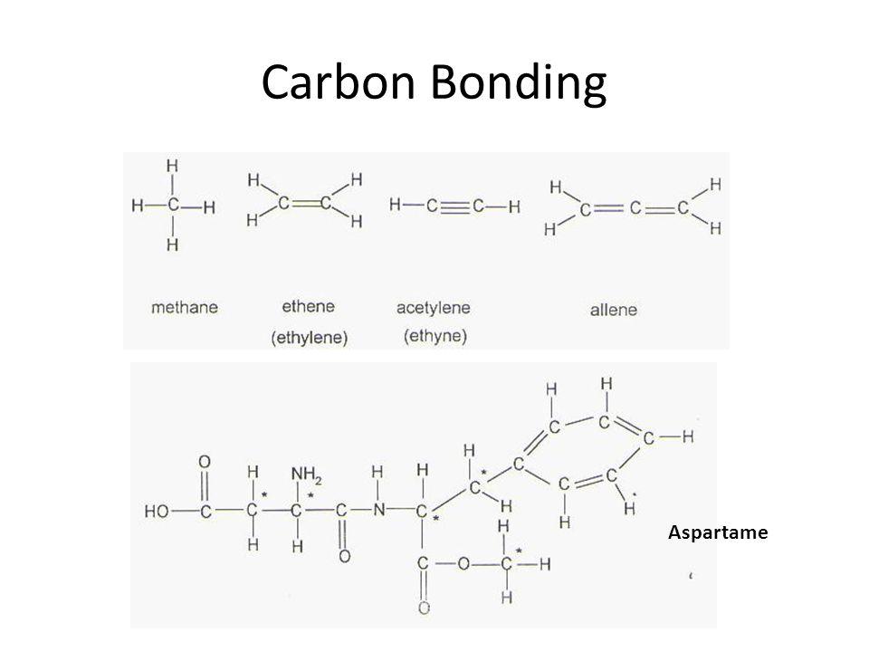 Carbon Bonding Aspartame