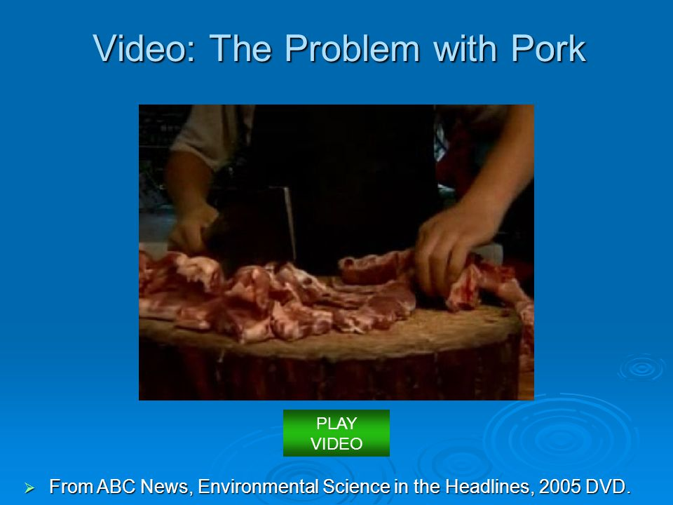 Video: The Problem with Pork