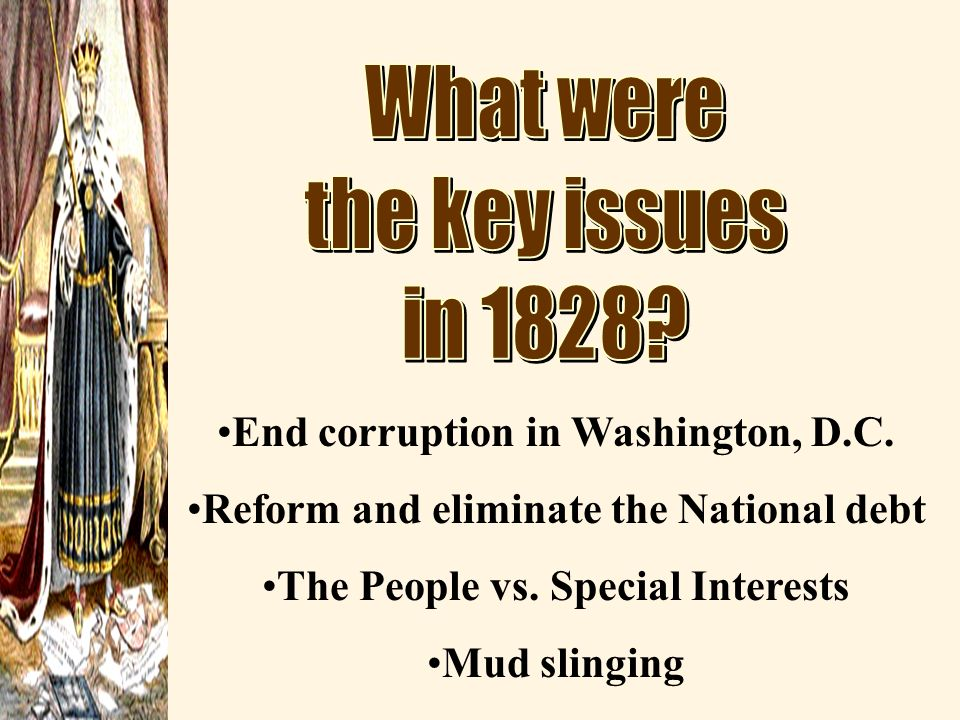 End corruption in Washington, D.C.