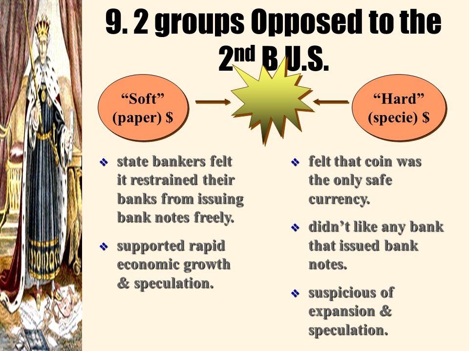 9. 2 groups Opposed to the 2nd B.U.S.