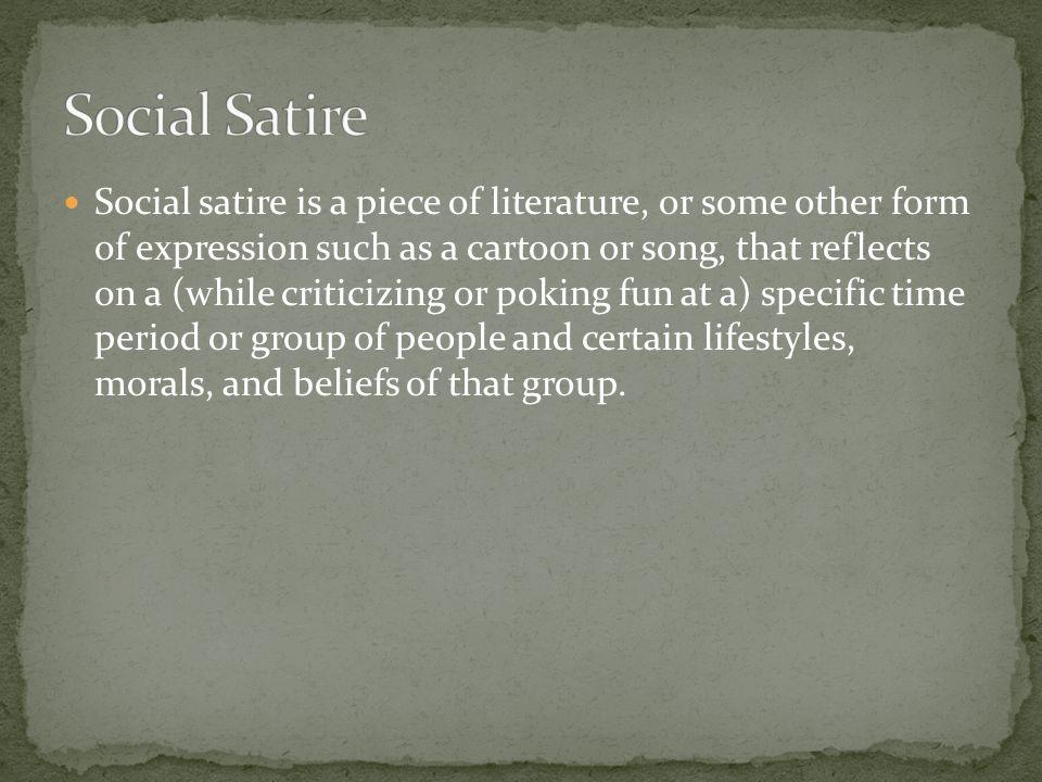 Social Satire