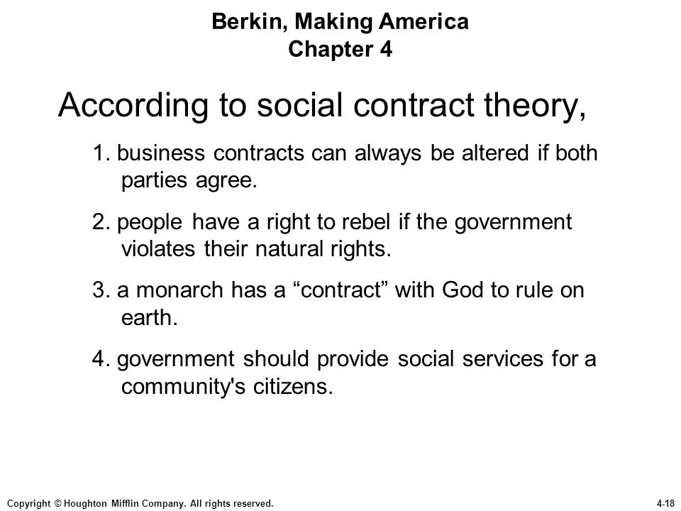 Berkin, Making America Chapter 4