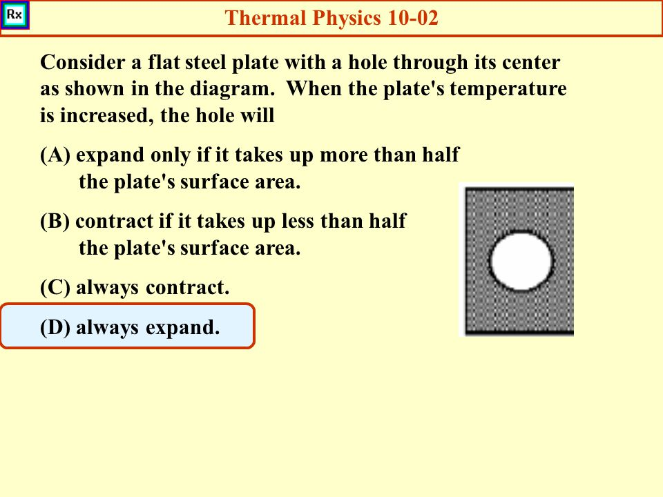 Thermal Physics 10-02