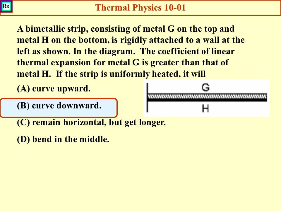 Thermal Physics 10-01