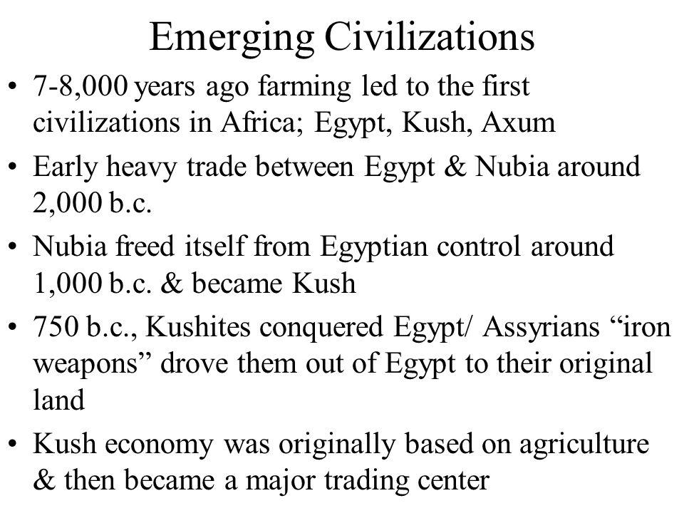 Emerging Civilizations