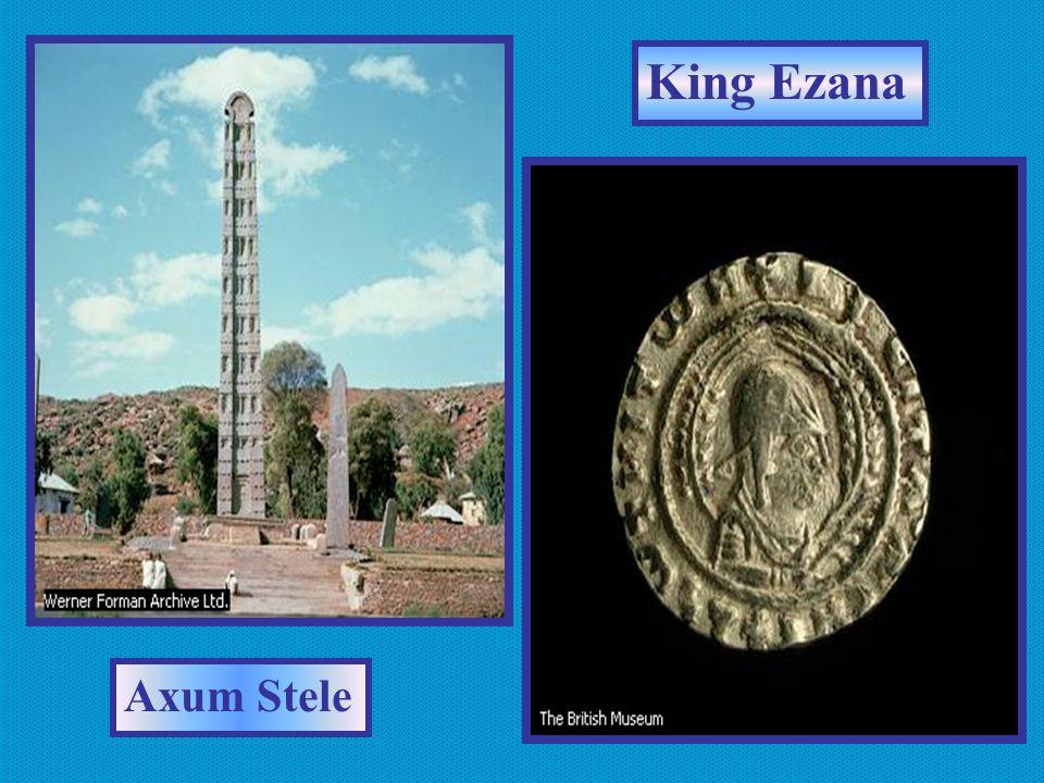 King Ezana Axum Stele