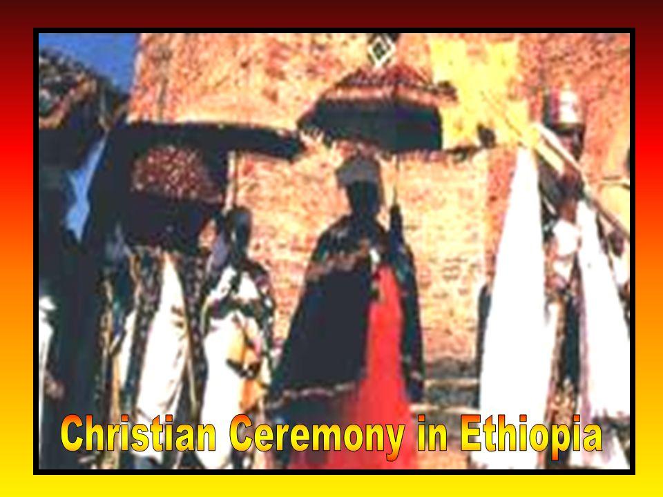 Christian Ceremony in Ethiopia