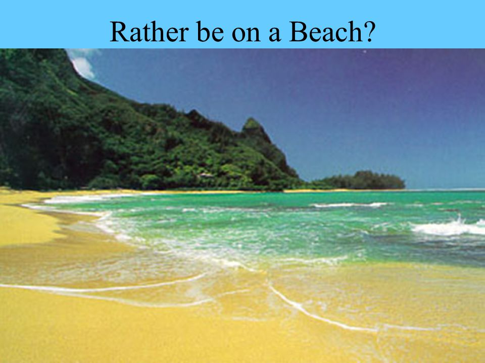 Rather be on a Beach
