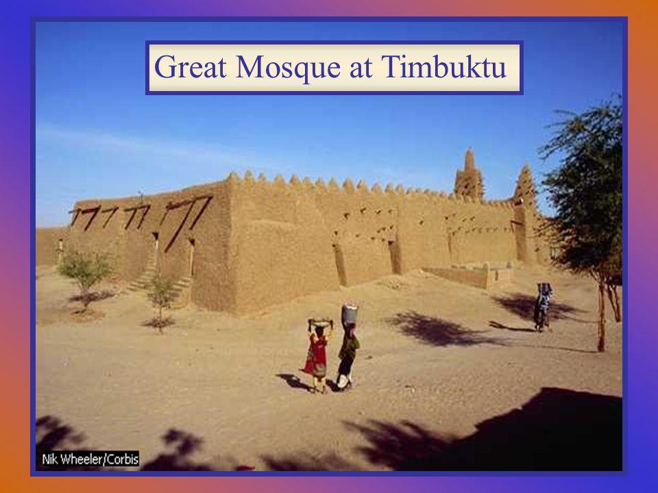 Great Mosque at Timbuktu