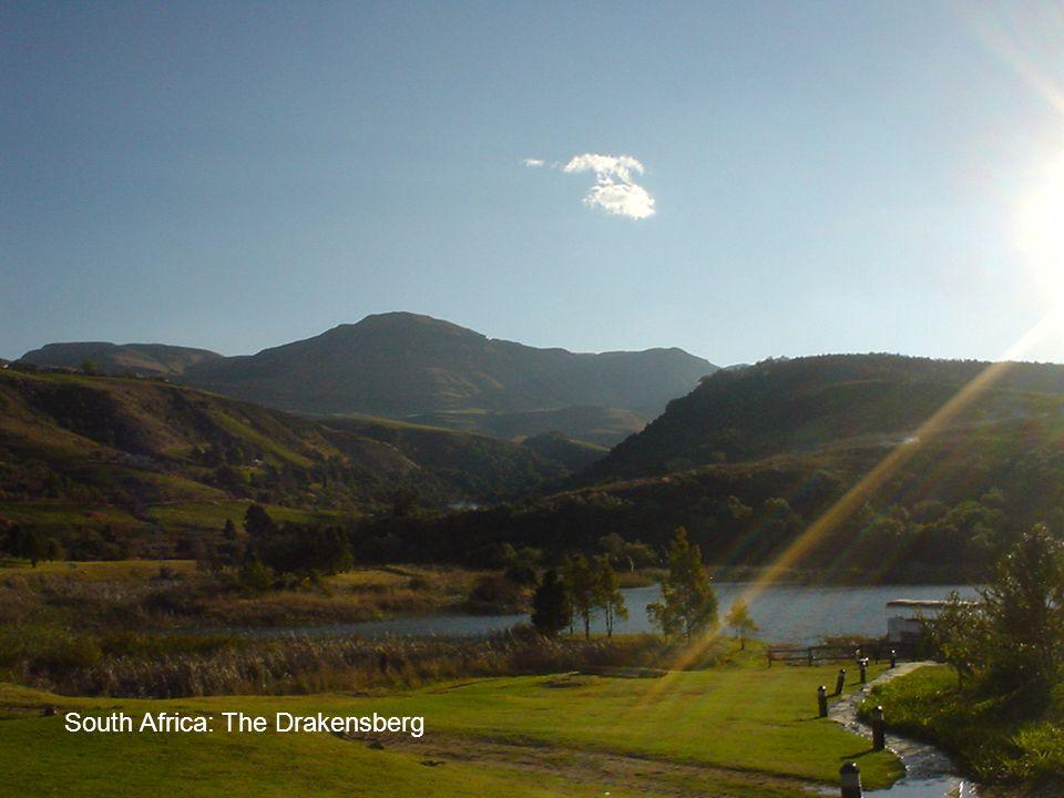 South Africa: The Drakensberg