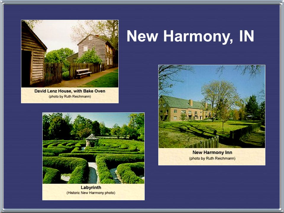 New Harmony, IN