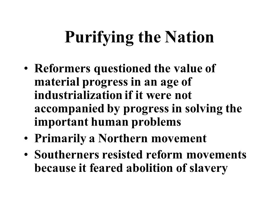 Purifying the Nation