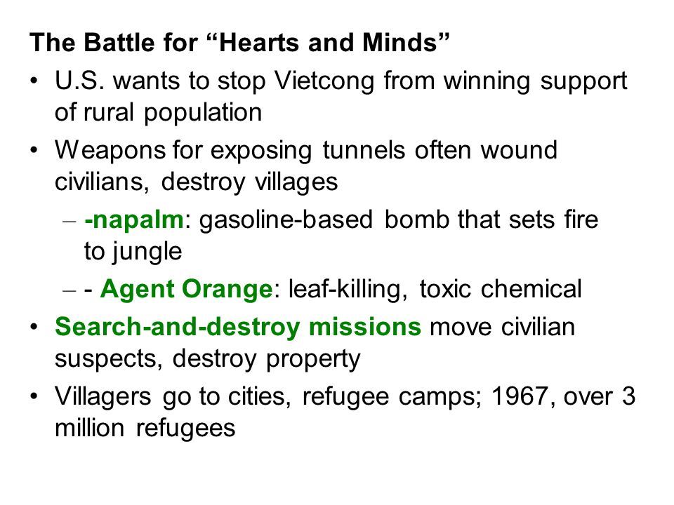 The Battle for Hearts and Minds