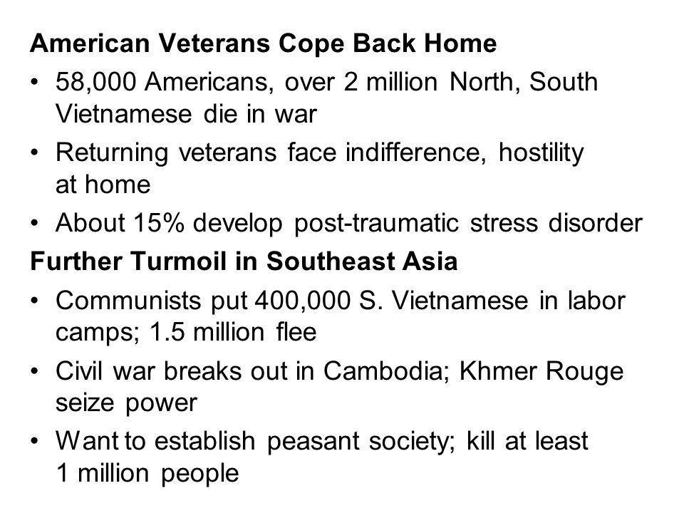 American Veterans Cope Back Home