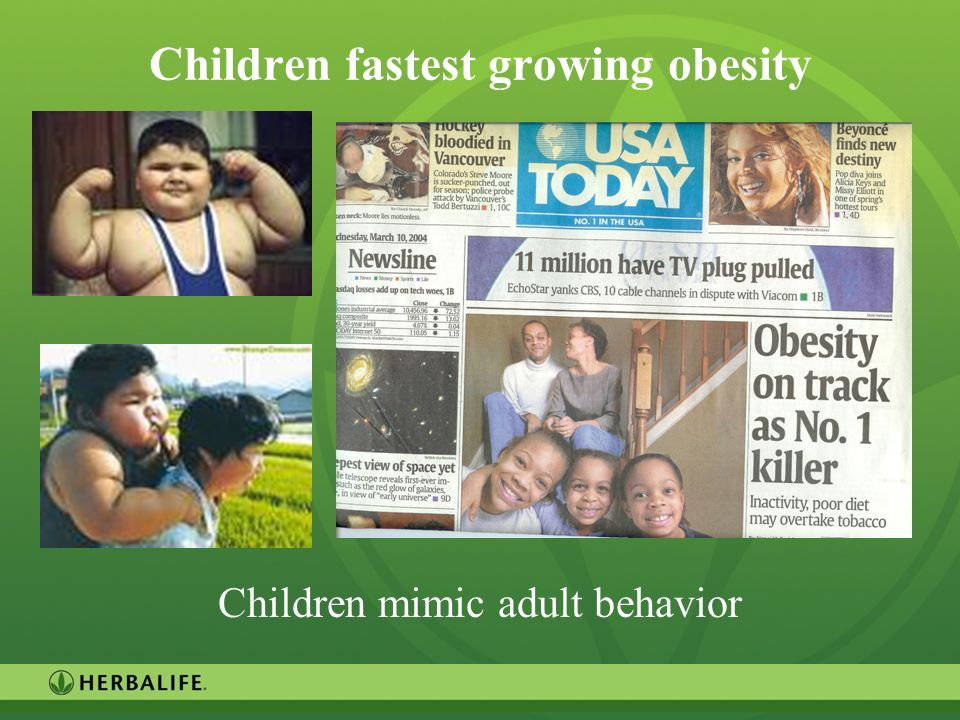 Children fastest growing obesity