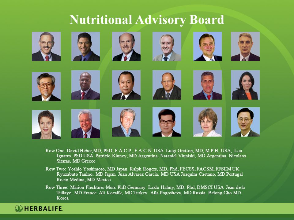 Nutritional Advisory Board