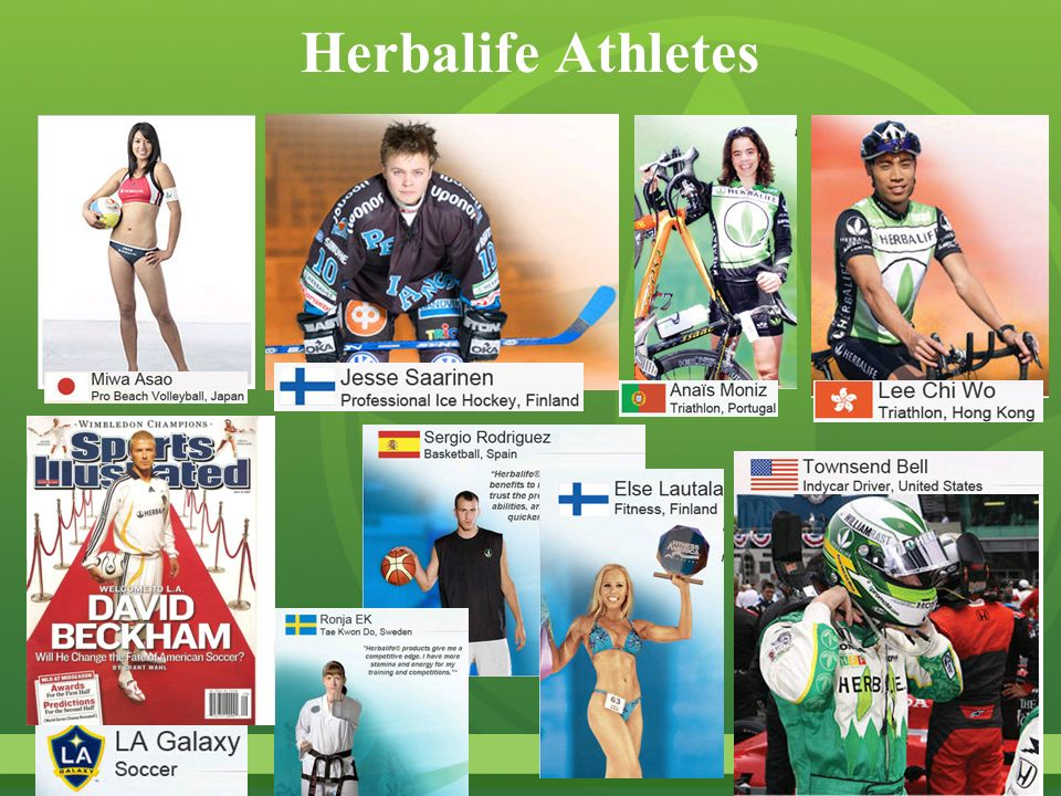 Herbalife Athletes