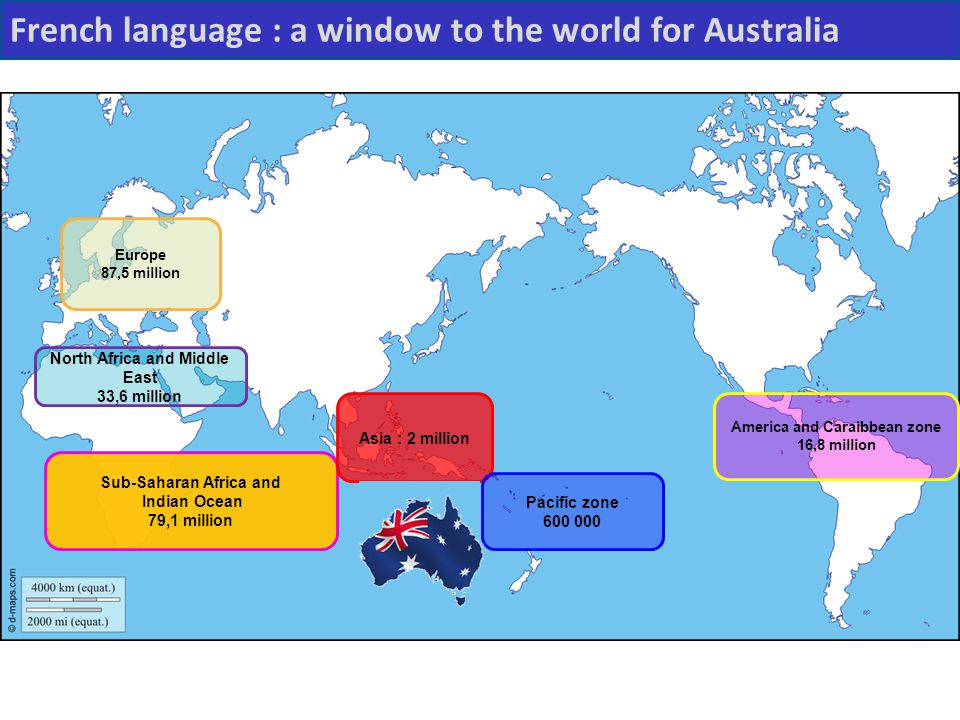 French language : a window to the world for Australia