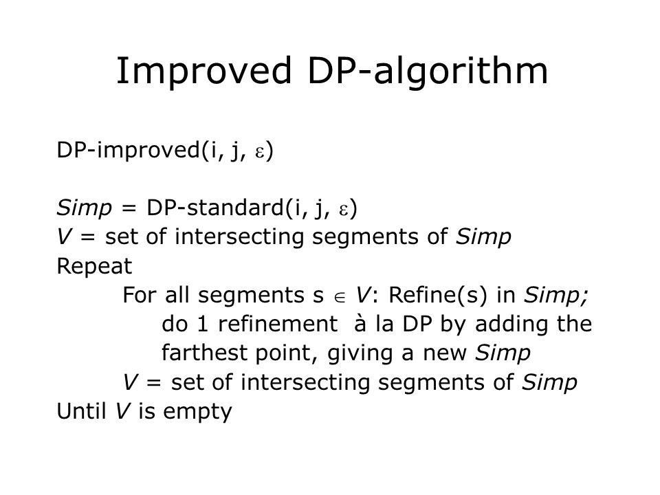 Improved DP-algorithm