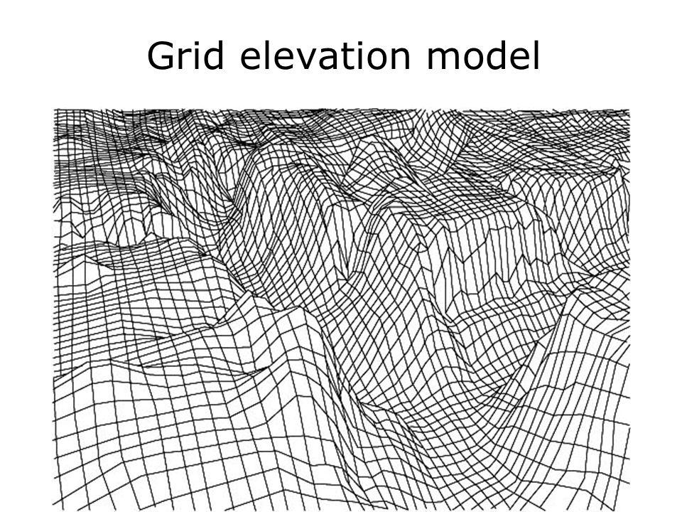 Grid elevation model