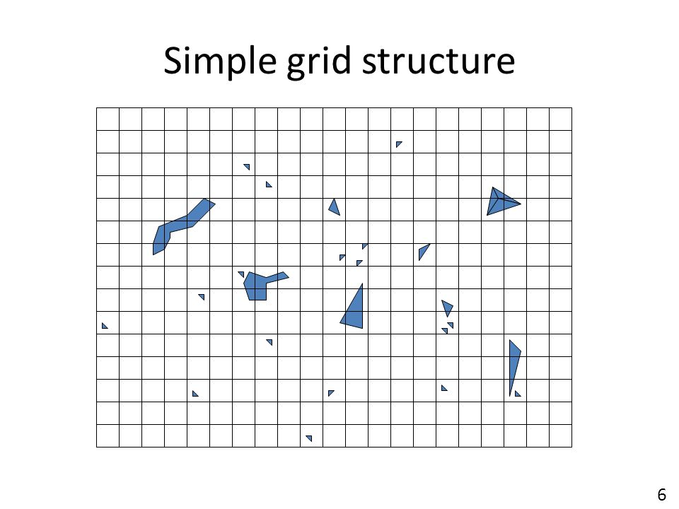 Simple grid structure 6