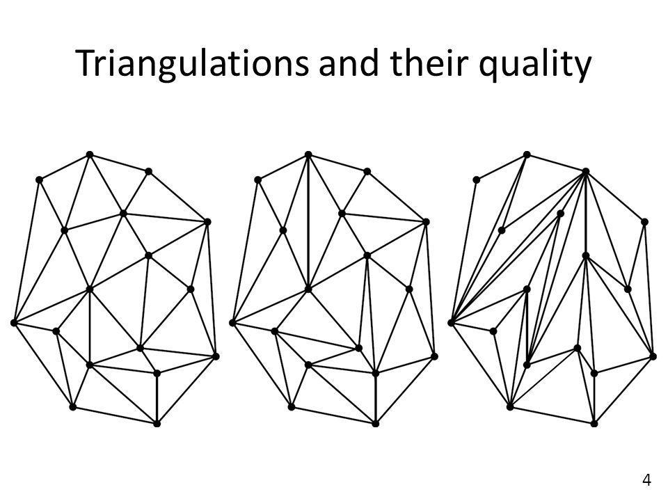 Triangulations and their quality