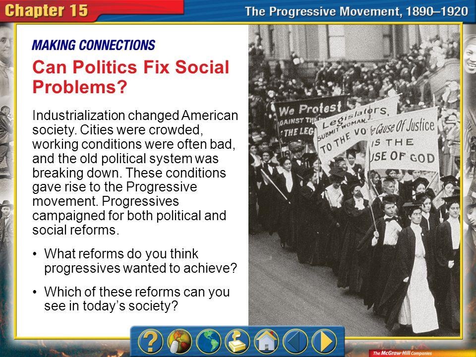 Can Politics Fix Social Problems