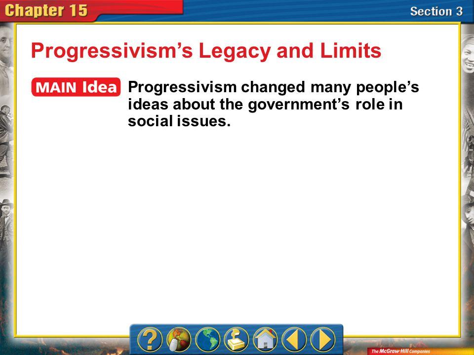 Progressivism's Legacy and Limits