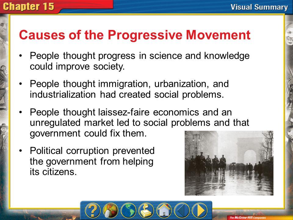 Causes of the Progressive Movement