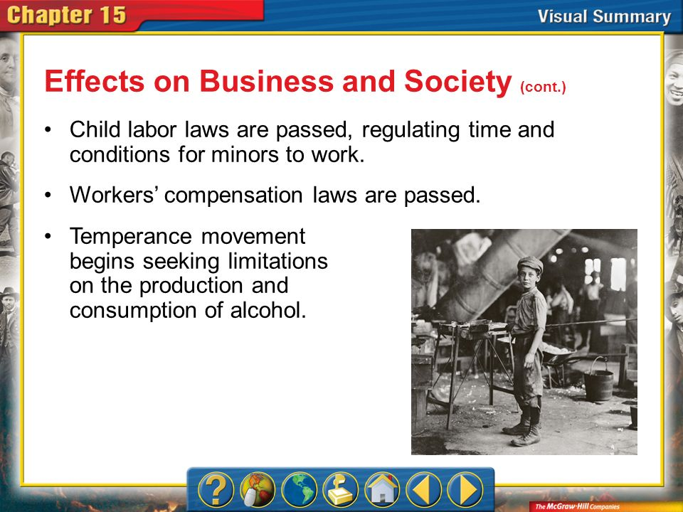 Effects on Business and Society (cont.)