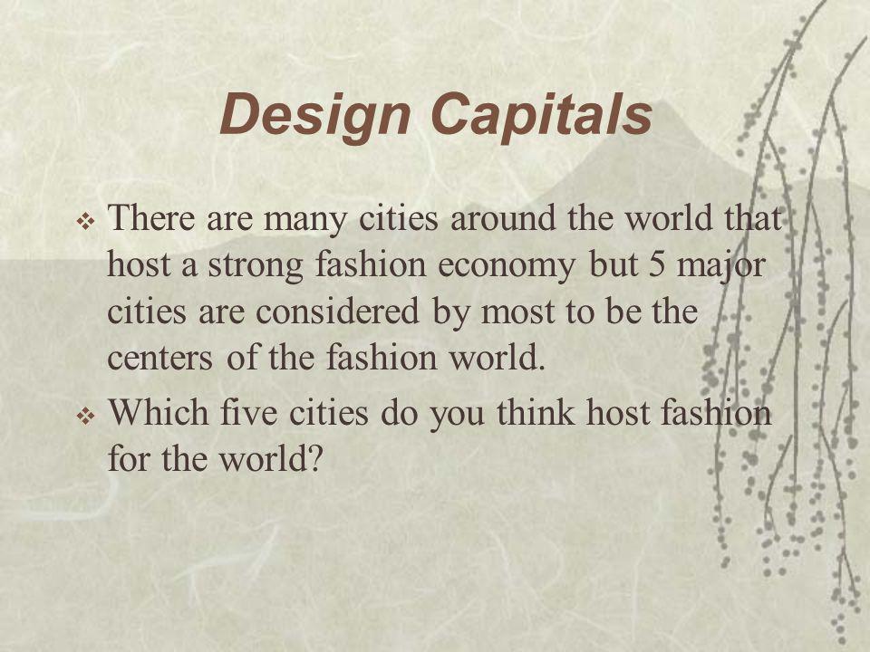 Design Capitals